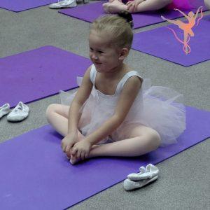 Маленькая балерина академии балета ФУЭТЕ