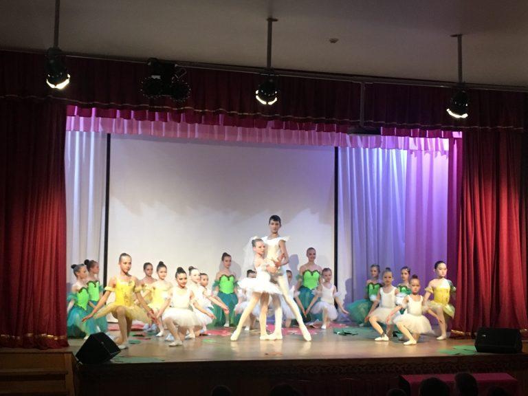 Благотворительный концерт Академии балета Фуэте в пос. Листвянка